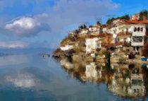 Ohrid lake by Georgi Koncaliev