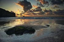 Trevaunance Cove, St Agnes, Cornwall by Simon Gladwin