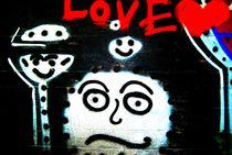 Love Graffiti von Diana Hartmann