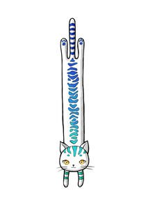 Long Cat von freeminds