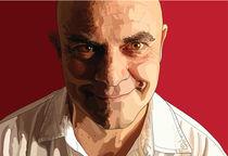 Maurizio Crozza's portrait von Anna Maggi