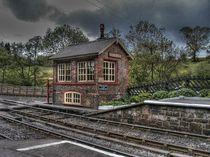 Goathland Signal Box by Allan Briggs