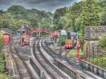 Goathland Railway Station & Sidings by Allan Briggs