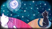 Bajo la misma luna-noche von herzebel
