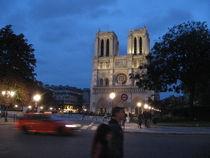 Paris la nuit - Notre Dame von Jennifer Jones