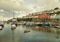 Brixham Harbour by sharon lisa clarke