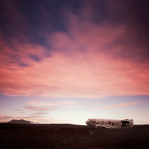 Island: Flugzeugwrack von Nina Papiorek