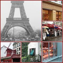 Paris Collage von ms-photographs