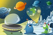 Alienplanetdruck