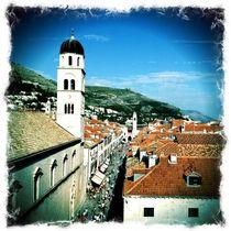 Stradun Dubrovnik von Tatjana Servais