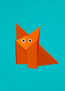 Cute Origami Fox by Boriana Giormova