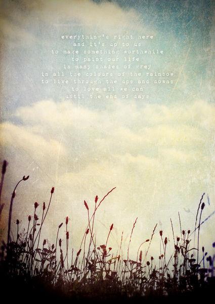 Theendofdays-poetrypicture-c-sybillesterk