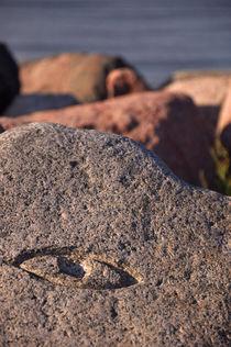 Auge im Fels von Mandy Siemon