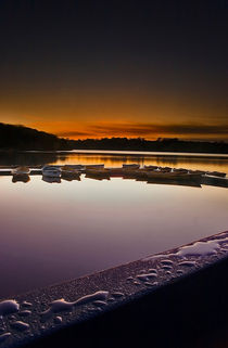 Dawn Droplets and Boats by Simon Gladwin