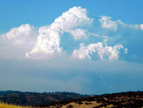 Pyrocumulus Cloud by Frank Wilson