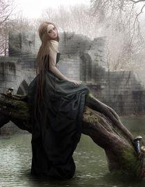 A veil of silent waters von Ana Cruz