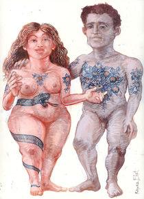 Adam&Eve Tattoo by Rainer Ehrt