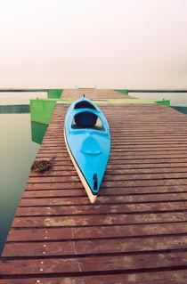 Lake in the fog by Kamil Sypien