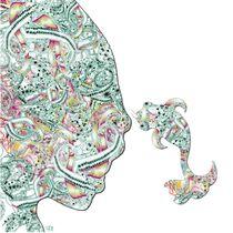 Homme Poisson couleur by Kasparian Tamar