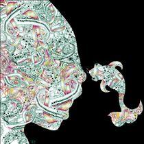 Homme Poisson couleur/noir by Kasparian Tamar