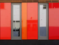 Het 4e Gymnasium - wood, wall panels, windows (2) von Marjolein Katsma