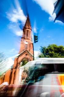 Berliner Blur - Evangelische Emmaus Kirche by Riccardo Valsecchi