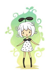Bean Girl von freeminds