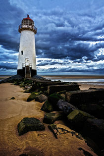 Talacre lighthouse by Mark Bunning