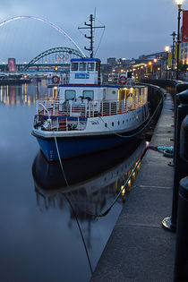 River Tyne Cruise Ship by David Pringle