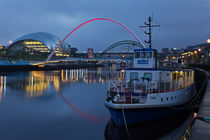 Newcastle Quayside at Night by David Pringle
