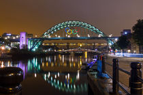 Tyne Bridge at Night II by David Pringle