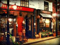 Victorian Street Scene von Colin Metcalf