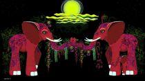 The Beauty of Elephants von Jenny Sorge