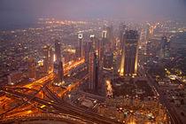 Dubai Skyline by dreamtours