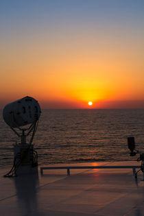 Sonnenuntergang am Meer von gfischer