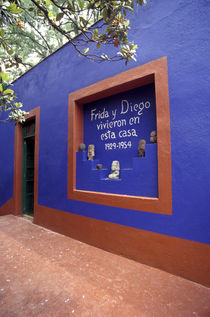 FRIDA KAHLO MUSEUM Mexico City by John Mitchell
