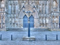 York Minster West Doors by Allan Briggs