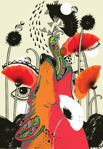 Poppies von Elina Kasesalu
