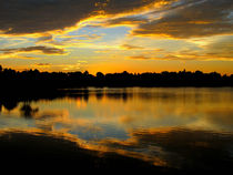 Sunset-Reflections by Zoila Stincer
