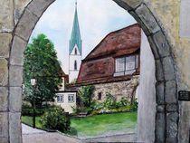 alte Kelter Rottenburg von Elisabeth Maier