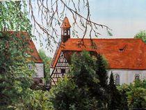 Altstadt bei Rottenburg von Elisabeth Maier
