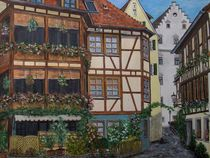 Spiegelgasse Rottenburg by Elisabeth Maier