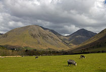 Kirk Fell and Great Gable by David Pringle