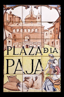 Plaza de la Paja von David Pringle