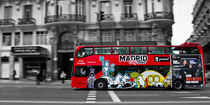 Madrid Bus by David Pringle