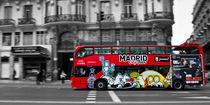 Madrid Bus von David Pringle