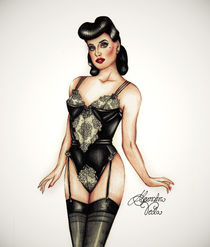 40s Lingerie by alexandra-veda