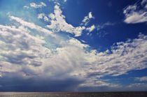 Clouds over the sea von AD DESIGN Photo + PhotoArt