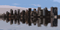 New York Skyline von David Pringle