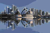 Sydney Skyline by David Pringle